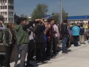 Opt minisateliţi lansaţi de pe aeroportul din Salcea, în cadrul unui concurs patronat de Agenţia Spaţială Europeană