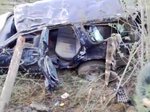 Doi morţi şi şapte răniţi, după un groaznic accident provocat de un călugăr la Brodina
