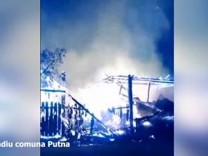 Două incendii puternice au produs pagube importante, în timpul nopţii