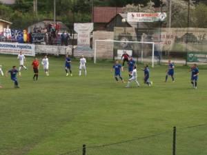 Pojorâta câştigă în ultima secundă derby-ul Bucovinei