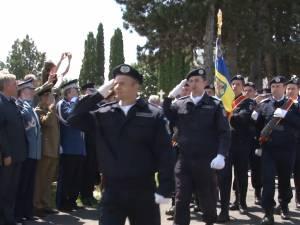 Ceremonial militar şi religios la Monumentul Eroilor din Cimitirul Pacea