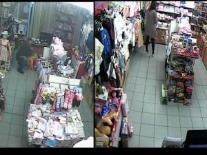 Hoţ filmat în timp ce fura telefonul unei vânzătoare, în Complexul Bucovina