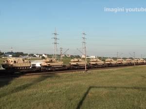 Două trenuri cu zeci de tancuri americane de luptă au tranzitat Suceava