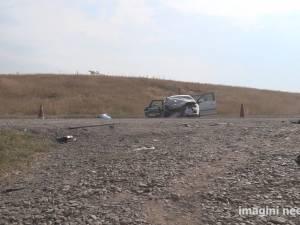 O femeie și fiicele sale, rănite grav de un șofer care a depășit pe linie continuă