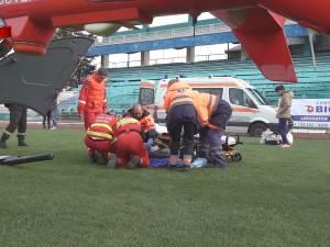 Copilul de 8 luni suspect de meningită a murit în elicopterul SMURD, în drum spre Iași