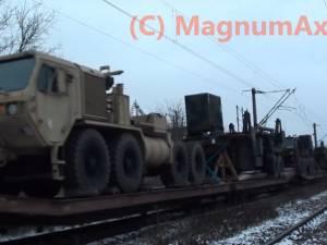 Un tren cu echipament NATO a tranzitat Suceava