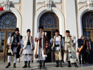 Cinci suceveni au dus Solia Cetăţii de Scaun a Sucevei la Alba Iulia