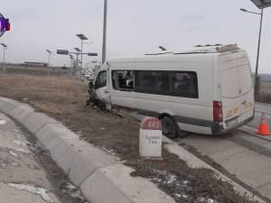 Accident cu şapte victime la intrarea în Suceava dinspre Rădăuţi