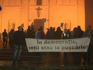 Început de săptămână cu protest, la Suceava