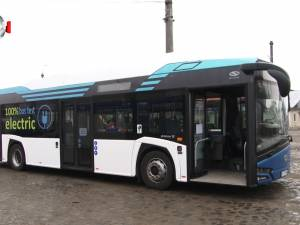 Călătorii gratuite cu cel mai nou model de autobuz electric, timp de zece zile