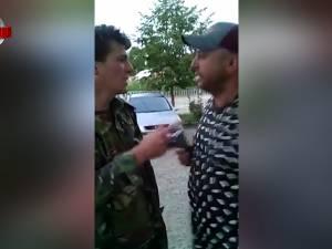 Poliţist de frontieră făcut albie de porci chiar în curtea Sectorului Poliţiei de Frontieră Siret