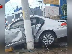 Patronul a două cafenele de succes din Suceava a murit după ce s-a zdrobit cu un BMW de un stâlp