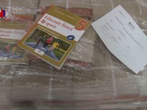 Primele manuale de sport au ajuns în depozitul Inspectoratului Şcolar Suceava