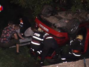 Trei tineri au murit în accidente într-o noapte de coşmar pe drumul naţional Rădăuţi-Putna