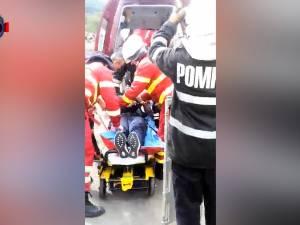 Un șofer care transporta țigări, rănit grav în timp ce încerca să scape de filtrele poliției