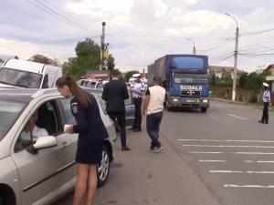 Siguranţa rutieră în zona şcolilor, o prioritate a poliţiştilor suceveni