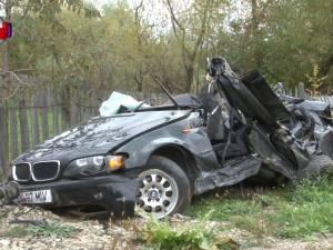 Doi tineri de 19 şi 20 de ani şi-au găsit sfârşitul în urma unui teribil accident la Râşca