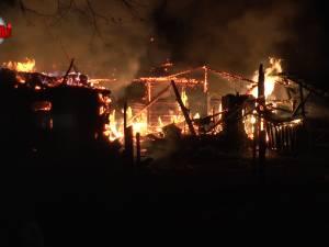 Incendiu cu pagube de peste 200.000 de lei, la Suceviţa