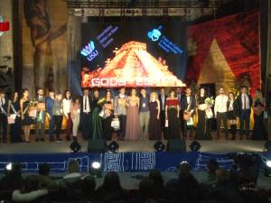 Studenţii Universităţii din Suceava şi-au sărbătorit bobocii în Egiptul Antic