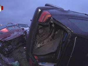 Şofer mort, după o depăşire imprudentă pe E 85, la Pătrăuţi