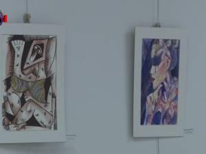 """""""Geometrie în culori"""", prima expoziție de artă contemporană a artistului plastic Cătălin Alexandru Chifan"""
