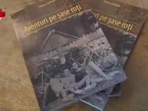 """Tiberiu Avram a lansat """"Aventuri pe şase roţi"""", la Gura Humorului"""