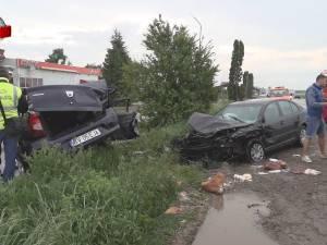 Accident mortal pe E 85, la Pătrăuți, cu trei mașini implicate