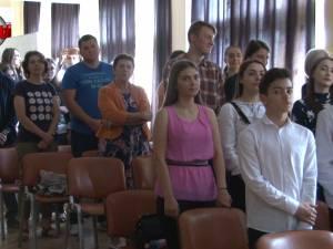 """Diplome DELF, de atestare a competenţelor în limba franceză, înmânate la Colegiul """"Petru Rareş"""""""