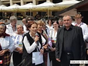 """S-a deschis """"Târgul de Sânziene"""" din centrul Sucevei"""