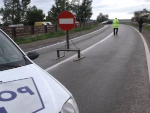 Podul de peste râul Suceava, la Milișăuți, închis din cauza riscului de prăbușire