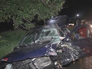 Un șofer beat care fugea de polițiști a provocat un grav accident la Gura Humorului