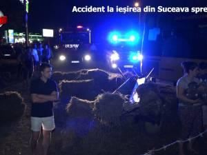 Noapte groaznică: accidente cu cinci morți, în municipiul Suceava