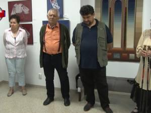 Expoziţia de artă plastică semnată de Cela şi Costin Neamţu, un regal de culoare, de echilibru, de spiritualitate