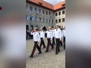 """Emoții pentru cei 120 de boboci ai Colegiului Național Militar """"Ștefan cel Mare"""""""