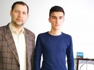 Un adolescent din Fălticeni a construit, de la zero, o imprimantă 3D