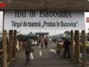 """Cel mai mare Târg de Toamnă """"Produs în Bucovina"""" s-a deschis în parcarea Iulius Mall Suceava"""