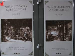 250 de piese folosite în ceremonialul meselor familiei regale, expuse la Muzeul Bucovinei