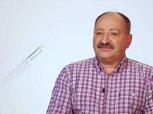 """Fostul viceprimar din Broşteni, apariţie de senzaţie la """"Chefi la cuţite"""""""