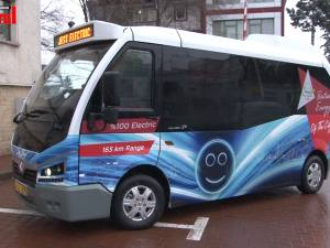 Călătorii gratuite cu primul autobuz Karsan Jest Electric adus la Suceava