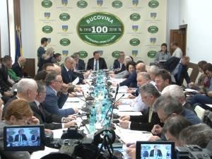 Consilierii județeni au votat, aproape fără să crâcnească, cedarea către DNA a unei clădiri de peste 850 mp situată ultracentral în Suceava
