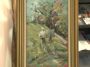 """Expoziţia de pictură """"In memoriam: Tiberiu Cosovan"""", la Centrul pentru Susţinerea Tradiţiilor Bucovinene"""