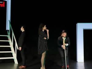 """""""Portretul"""", jucat în premieră națională, pe scena Teatrului """"Matei Vișniec"""" Suceava"""