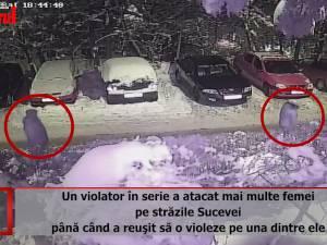 Un violator în serie a atacat mai multe femei pe străzile Sucevei până când a reuşit să o violeze pe una dintre ele