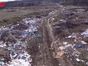 Primăria Şcheia a încasat o nouă amendă de la Garda de Mediu pentru un alt depozit ilegal de gunoaie