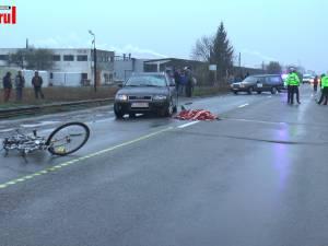 Biciclist accidentat mortal într-o intersecţie din comuna Dorneşti