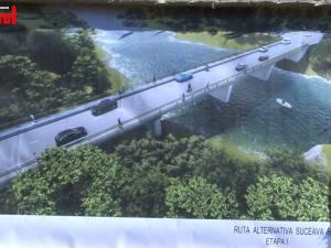 Un nou pod peste râul Suceava şi rută ocolitoare spre Botoşani, demarate de Primăria Suceava