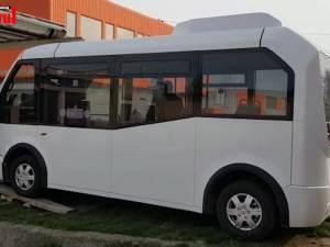 Primele autobuze 100% electrice au ajuns marţi în Suceava