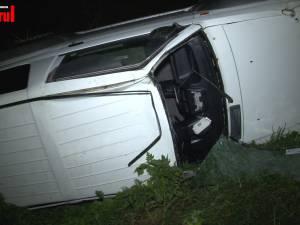 Un bărbat a murit, după ce maşina cu care făcea off-road s-a răsturnat de mai multe ori