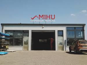 MIHU ACOPERIŞURI a inaugurat noul depozit logistic la intrare în Ipoteşti