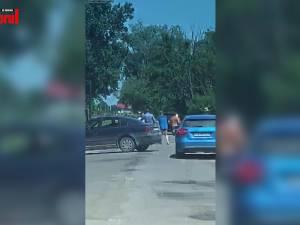 Doi tineri reţinuţi în arestul poliţiei după răfuiala în stradă de la Slatina